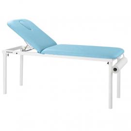 Table fixe en métal blanc 2 plans C4520